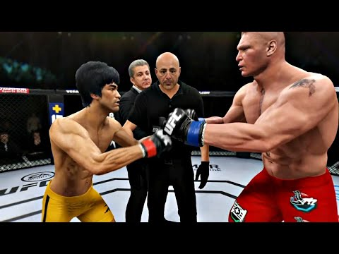 Download BRUCE LEE VS BROCK LESNAR   UFC 4 BRUTAL FIGHT   UFC 4 K1 RULES   EA SPORTS UFC 4   UFC 4 2020   UFC