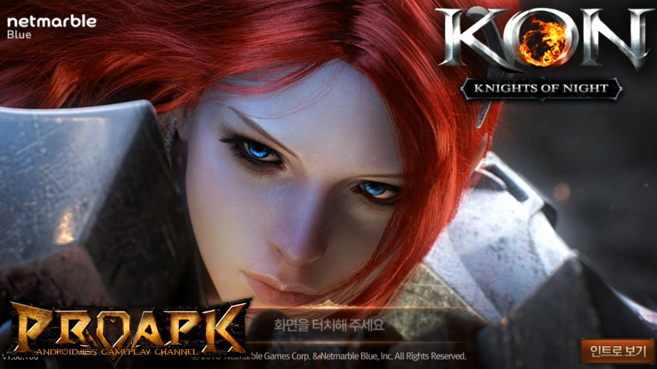 KON Knights of Night (KR) Gameplay iOS / Android