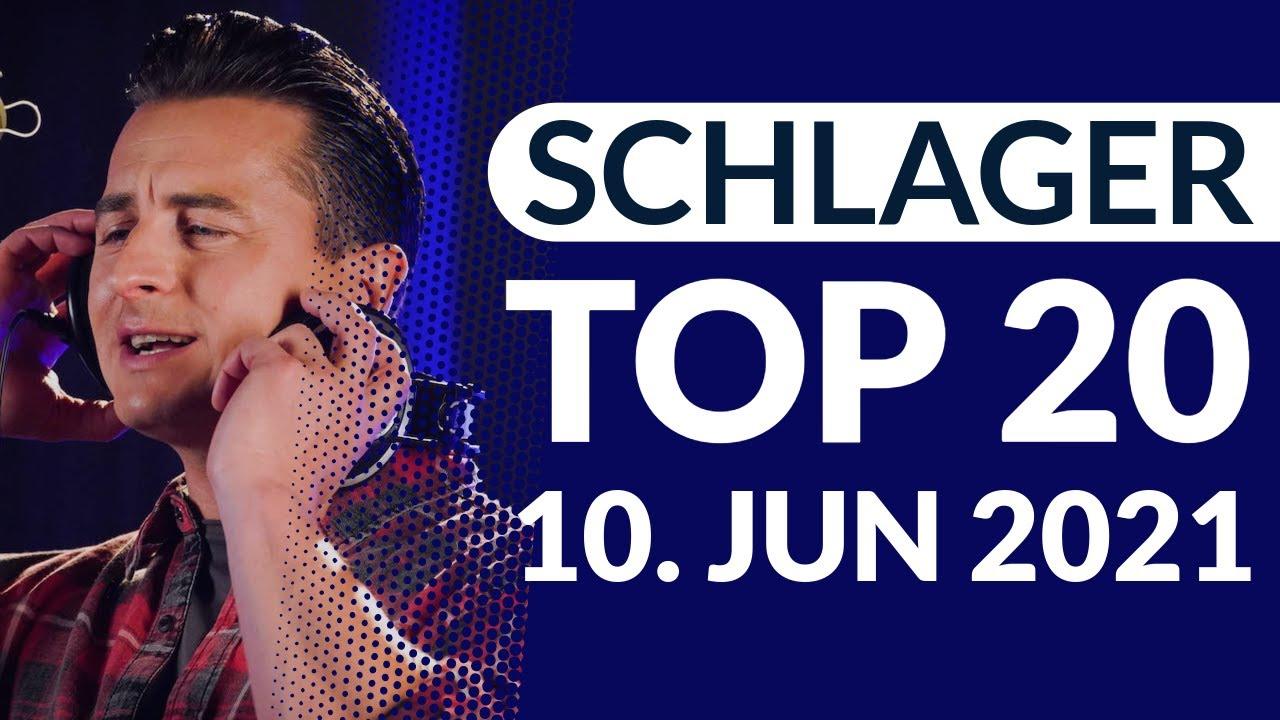 SCHLAGER CHARTS TOP 20 - Die aktuelle Wertung vom 10. Juni