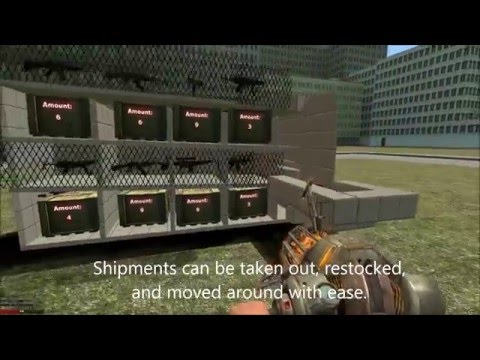 Garry's Mod Automated Gunshop Prototype - YouTube