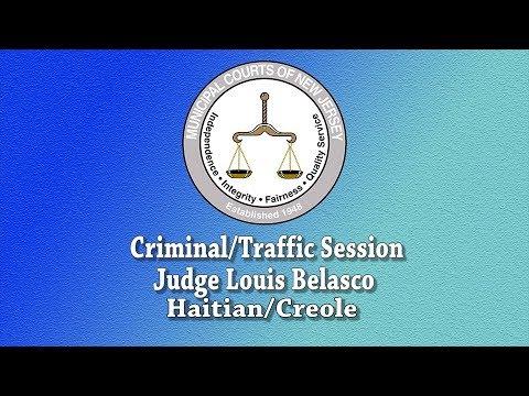 Modèl Entwodiksyon pou Tribinal Minisipal - Haitian Creole