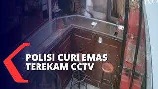 Terekam CCTV! Anggota Polres Berpangkat Bripda Nekat Curi Emas di Pasar Tabanan