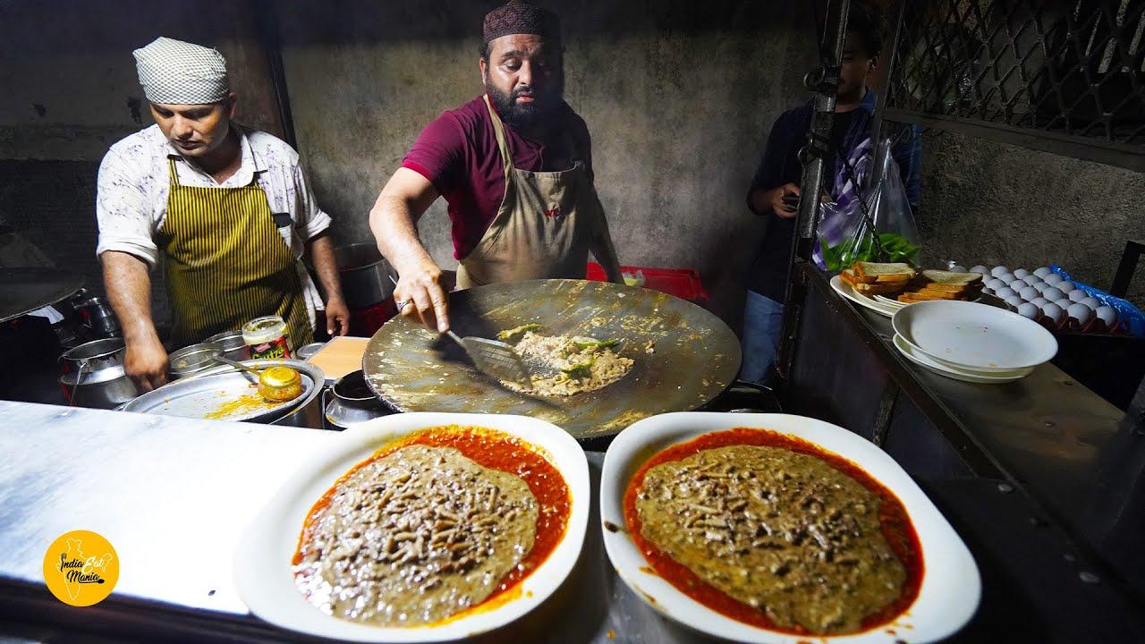 Rajkot King Of Mughlai Omelette Rs. 160/- Only l आपने कभी खाया है मुग़लई आमलेट? l Indian Street Food