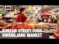 Gambar cover KOREAN STREET FOOD - Gwangjang Market in Seoul | Best Korean Street Food dishes