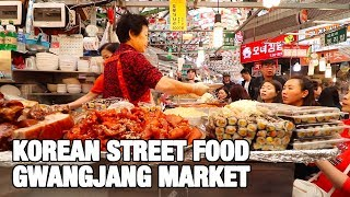 Korean Street Food to try at Gwangjang Market in Seoul | Best Traditional Korean Street Food dishes