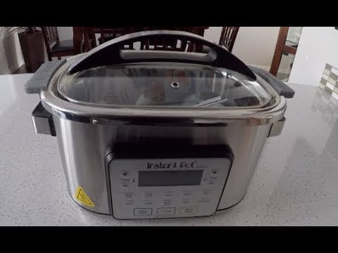 Instant Pot Aura Pro 8 Qt With Sous Vide Youtube