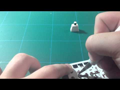 How To Decal a Lego Minifigure Part 1: Torso