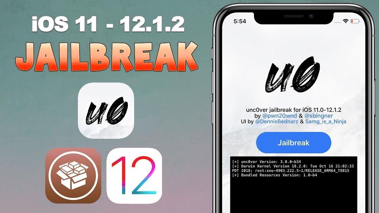Hướng dẫn Jailbreak ios 11 – 12.1.2 bằng Uncover