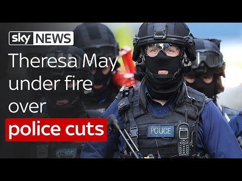 London terror: May under fire over cuts