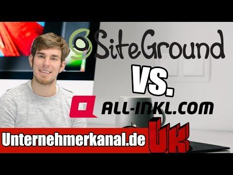 WORDPRESS Webhoster Vergleich ► Werde ich wechseln? Webspace Vergleich Siteground All-Inkl Erfahrung