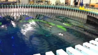 海上技術安全研究所 造波装置デモンストレーション