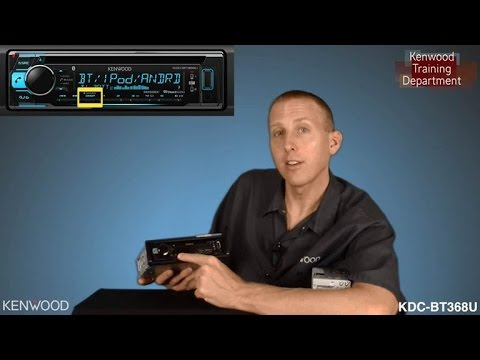 Kenwood Kdc Bt368u 2017 Audio Receiver Unboxing Feature Highlights Youtube
