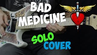 Bon Jovi - Bad Medicine (guitar solo cover)