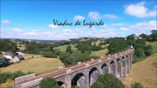 Le Train Touristique du Cantal by Bebop drone -  Le Gentiane Express
