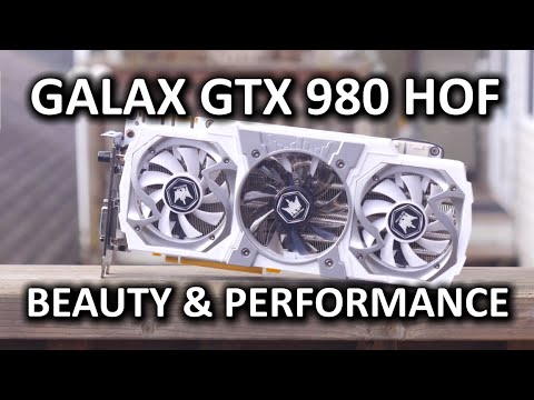 """Galax GTX 980 """"Hall of Fame"""" Video Card Review"""