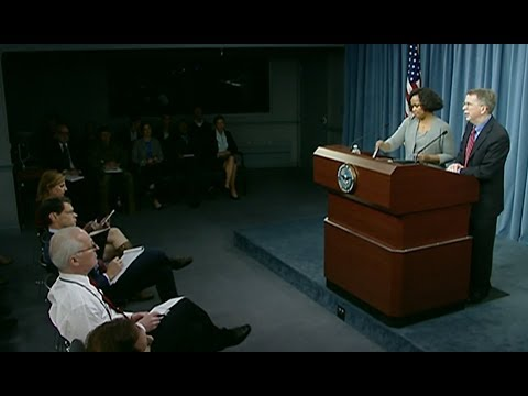 Dept. Of Defense: Pentagon Officials White & Norquist Discuss New DoD Audit with Press.