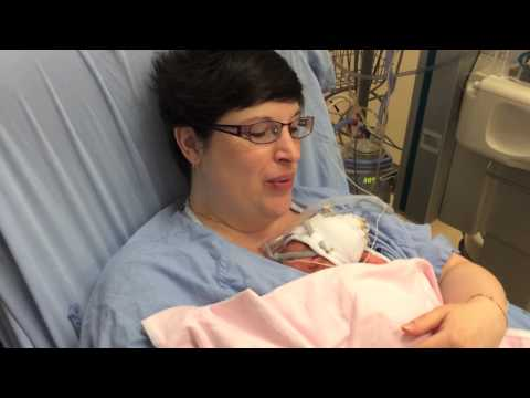New mother sings to her baby in NICU | Mount Sinai Hospital Toronto