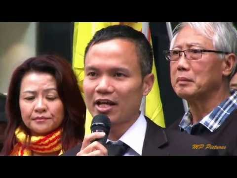 Vietnamese Community in Australia protested against vc at US Consulate in Sydney 21 May 2016