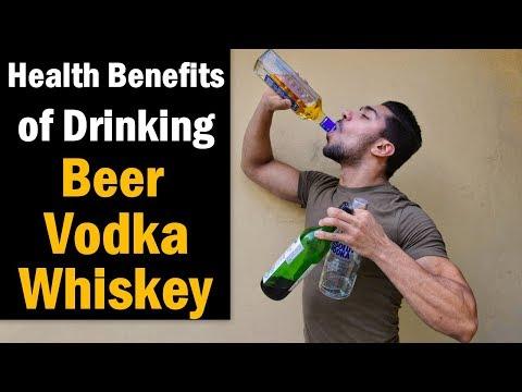 Health Benefits of Drinking Beer, Vodka, Whiskey - Alcohol (Hindi)