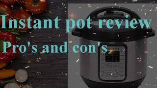Instant pot review in telugu