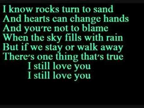I Still Love You- Alexz Johnson (Instant Star)