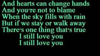 I Still Love You- Alexz Johnson (Instant Star)