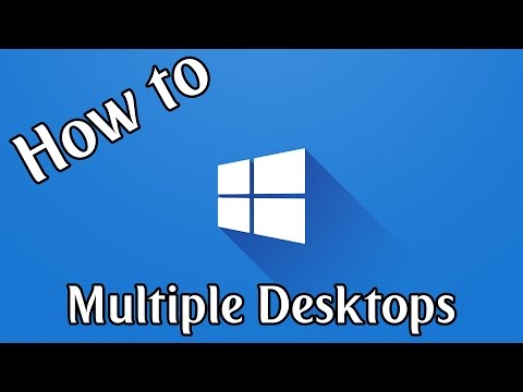 How To Use Multiple Desktops in Windows 10   Windows 10 How To