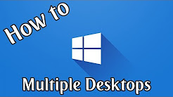 How To Use Multiple Desktops in Windows 10 | Windows 10 How To