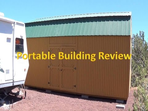 Portable Building Review   Over 2 Yrs Later Are They Worth It?