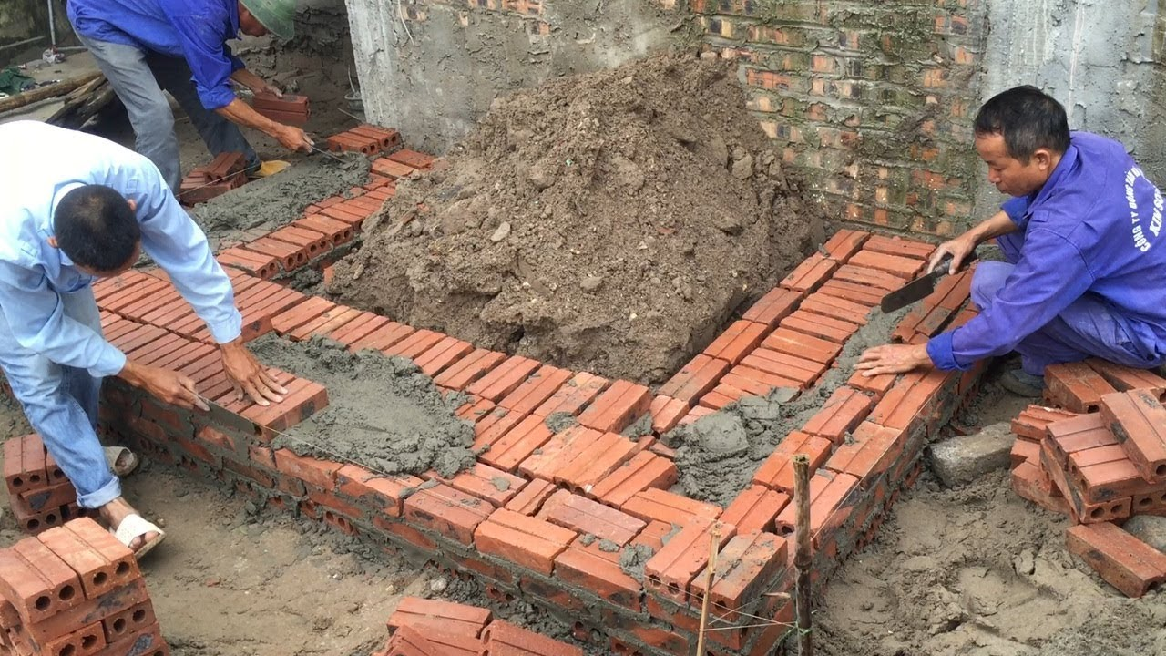 How To Build A Brick Step Correctly