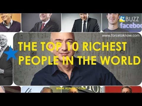 Top 10 Richest People in the World #money #luxury #BILLIONAIRE #wealth #success #business