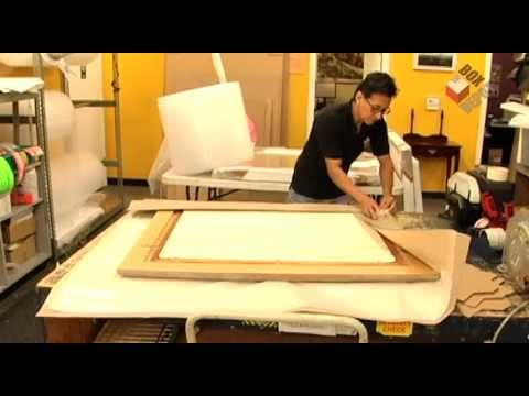 How To Pack A Large Painting