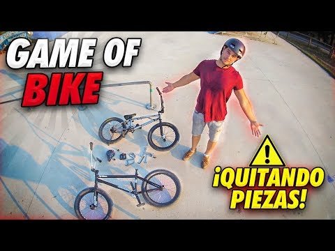 GAME OF BIKE QUITANDO PIEZAS DE LA BMX! - Visitamos un nuevo park