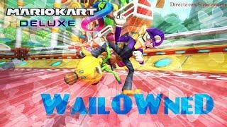 [Mario kart 8 Deluxe] #WailOwned-Directo Suscriptores- nintendo-Eixit