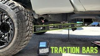 Installing Traction Bars on My Cummins Titan XD