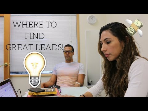 Where To Find GREAT Leads and How To Prioritize Them