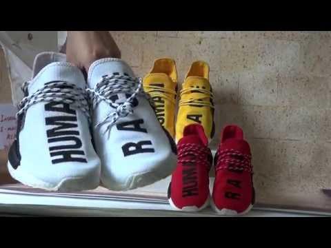 Pharrell x adidas NMD HU Race 'Scarlet'
