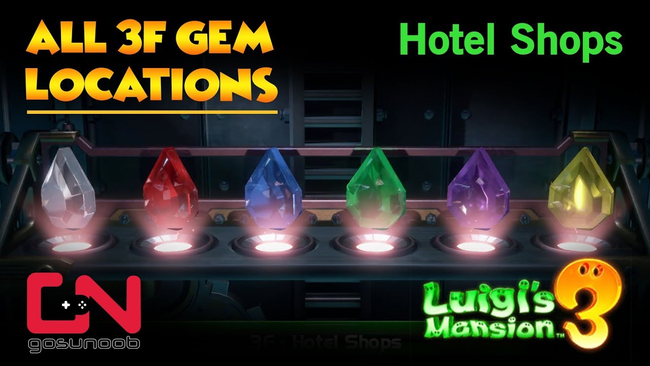 Guides Luigi 39 S Mansion All Gemstone Locations 3f
