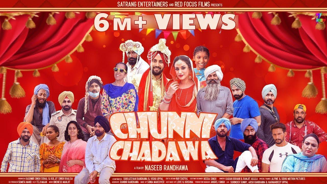 Download CHUNNI CHADAWA || NEW FULL PUNJABI MOVIE 2021 || WEDDING COMEDY || MALKEET RAUNI || GURPREET BHANGU