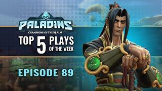 Paladins Top 5 Plays 89