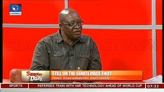 Mace Theft: Analysts Believe Thugs Got Inside Help Pt 4 | Sunrise Daily |