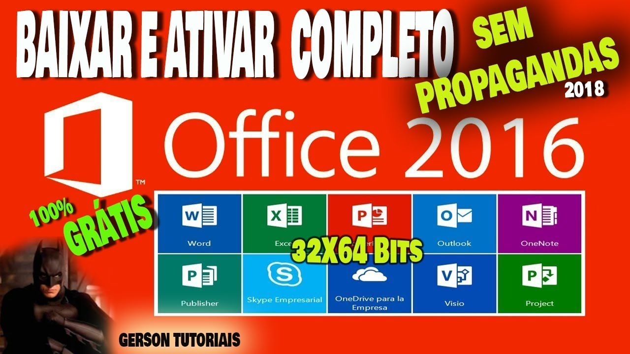 Office 2016 Download Completo Como Ter Microsoft Office 2016