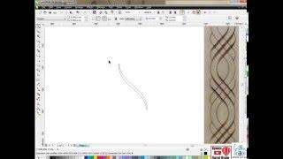 Гравировка по средней линии CorelDRAW + ArtCam