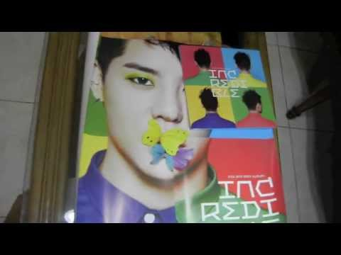 Unboxing Xia Junsu Incredible Album