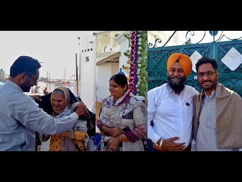 When Indian & Pakistani Facebook Friends Got Together In Nankana Sahib ✦ Balwindr Pakhoke g Da Swagt