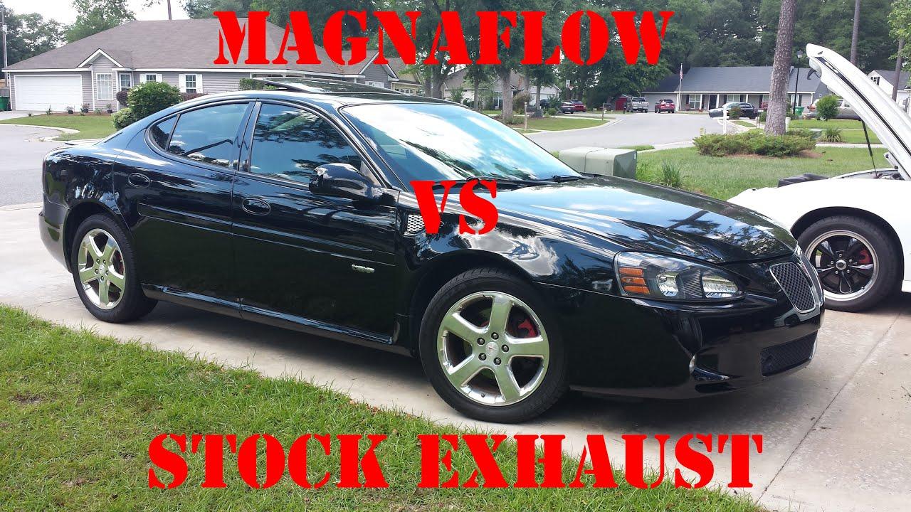 Pontiac 2005 pontiac grand prix gxp : 08 Pontiac Grand Prix GXP Magnaflow Catback vs Stock Exhaust - YouTube