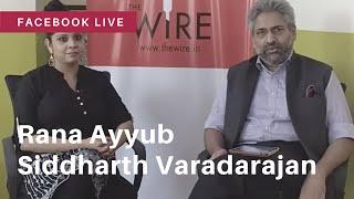 Rana Ayyub talks about her book on Gujarat in conversation with Siddharth Varadarajan thumbnail