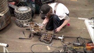 race mower rebuild pt1-inside peerless 820