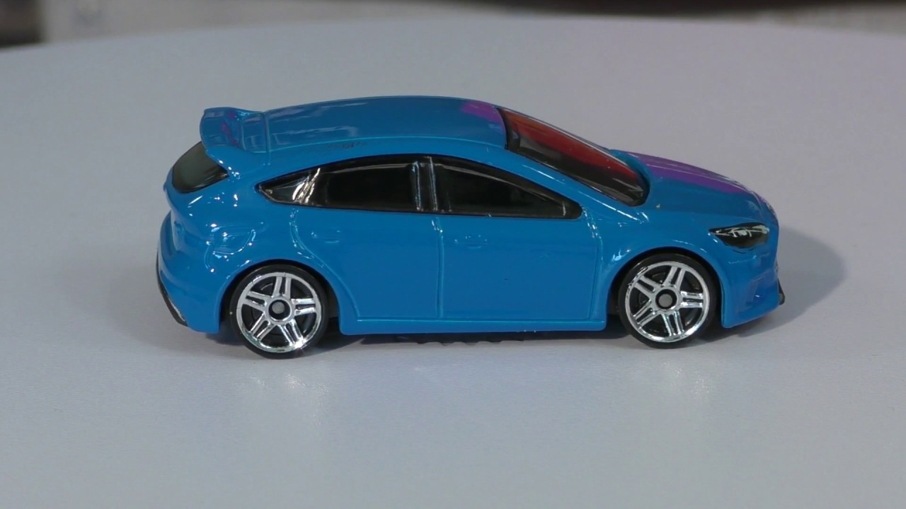 Hot Wheels M Case  Ford Focus Rs New Model