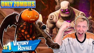 ZOMBIE ONLY CHALLENGE! - [Fortnite]